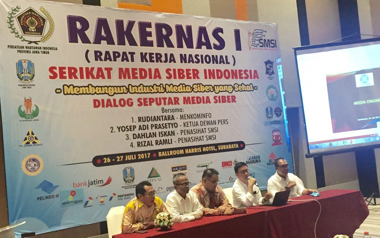 SMSI Gelar Rakernas Perdana di Surabaya