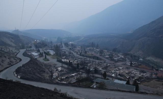 Yang tersisa dari ganasnya kebakaran hutan di Kanada