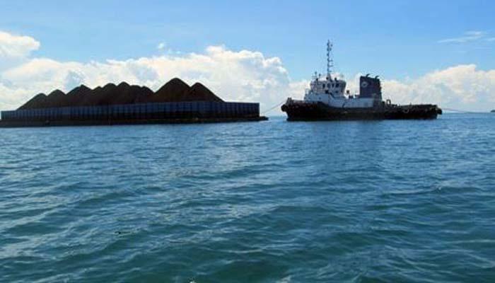 Bakamla RI Kembali Tangkap Kapal Tongkang  Muat Batu Bara Ilegal