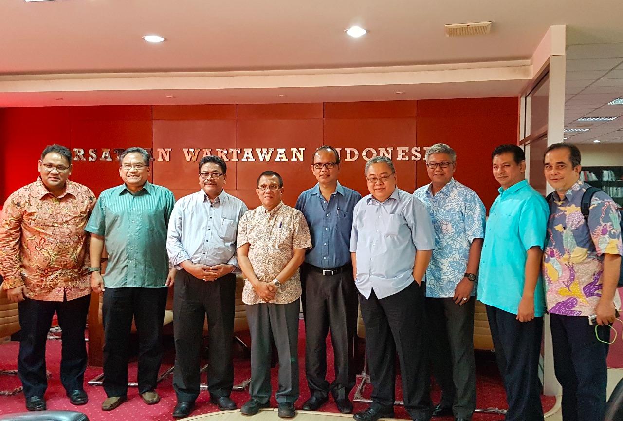KUNJUNGI PWI, MALAYSSIA BELAJAR MERAWAT KEMERDEKAAN PERS