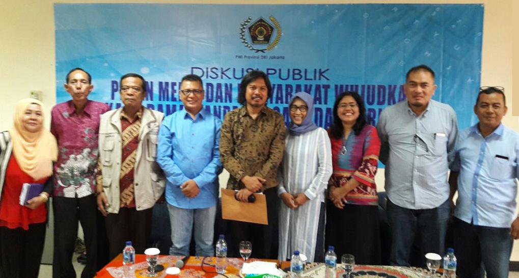 PWI DKI Jakarta Ajak Media Dan Masyarakat Wujudkan Pilkada Damai Tanpa Isue Sara Dan Hoax