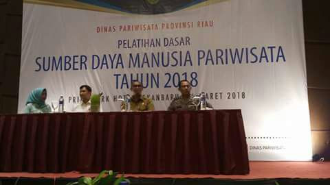 Dispar Riau Gelar Pelatihan Dasar SDM Pariwisata