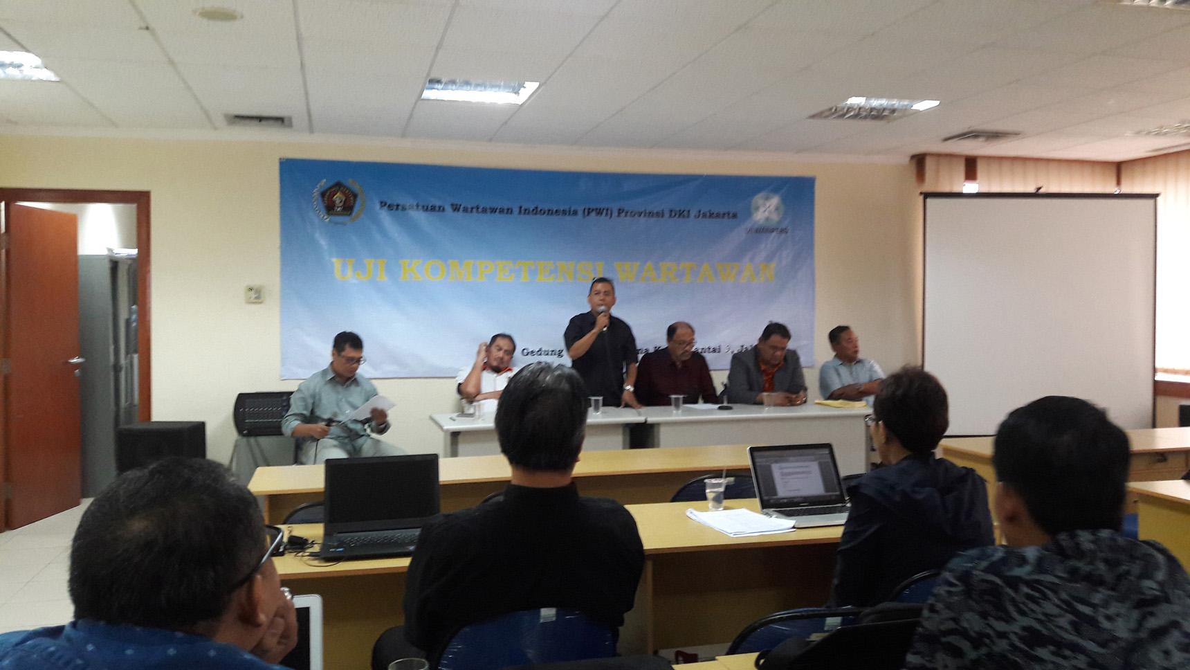 Seluruh Peserta UKW PWI DKI Jakarta Angkatan ke-29 Dinyatakan Kompeten