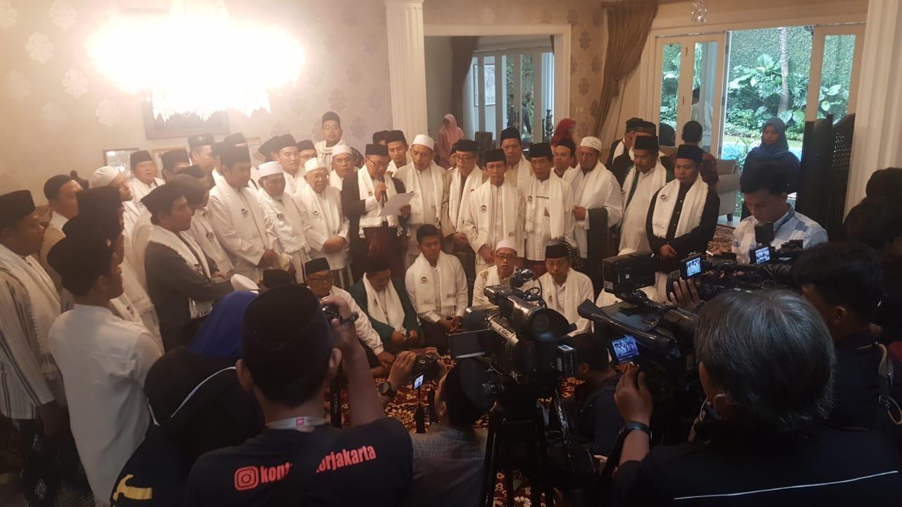 SETELAH SELATAN, GILIRAN ULAMA JAKARTA TIMUR IKRAR DUKUNG PROF. DR. KH. MA'RUF AMIN