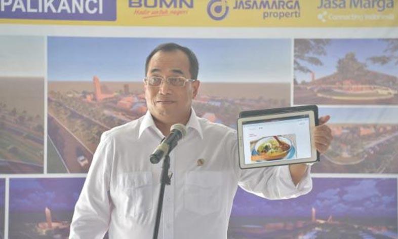 Menhub Perkenalkan Peta Kuliner Trans Jawa