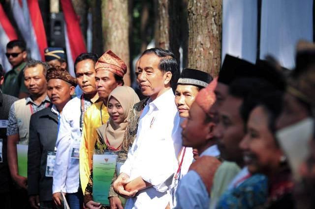 Jokowi : 2, 53 Juta Hektar Lahan Sudah Dibagikan ke Rakyat Kecil
