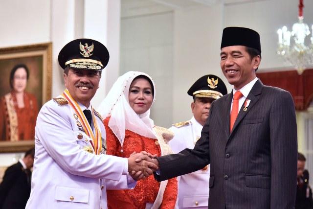 Dilantik Jokowi, Syamsuar Sosialisasikan Pencegahan Kebakaran Hutan