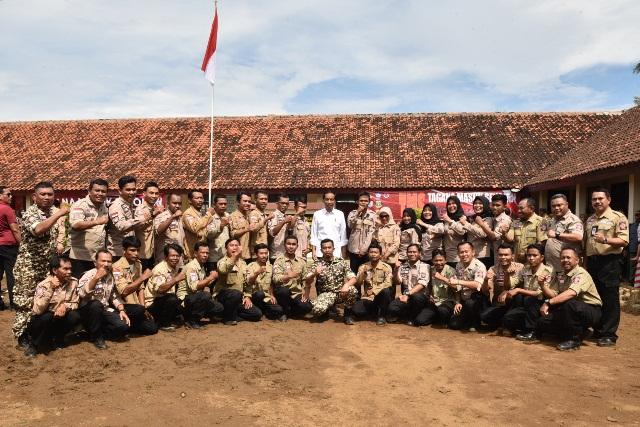 Jokowi : Indonesia Dilewati Jalur Cincin Api