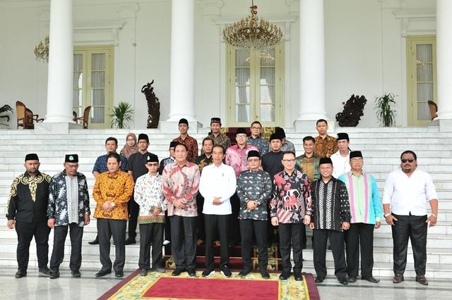 Ketua Umum FBR Sambangi Istana Kepresidenan
