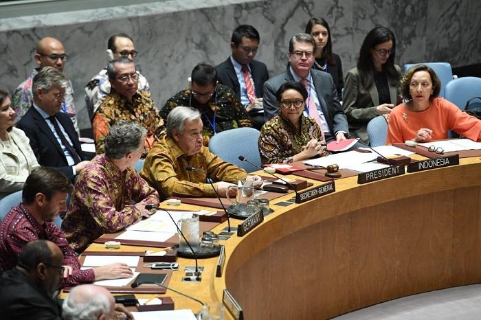 Di Sidang DK PBB, Batik Sebagai Dress Code