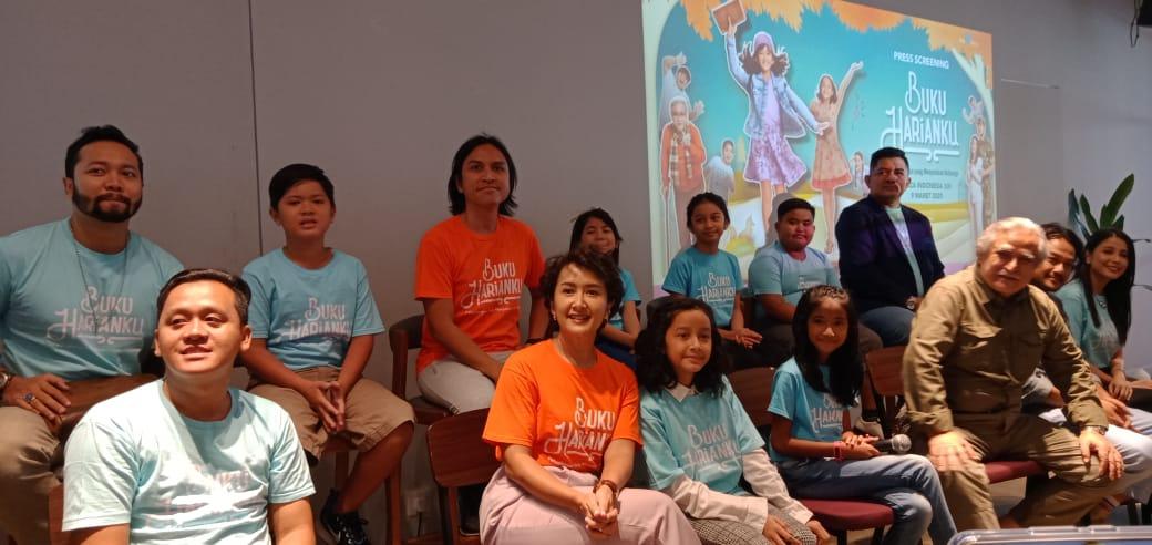 Tayang 12 Maret, Film Buku Harianku Hibur Keluarga Indonesia