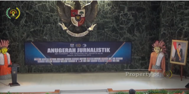 Anugerah Jurnalistik MH Thamrin PWI Jaya ke 45 Tahun 2019/part II