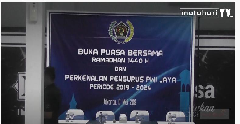 Buka Puasa Bersama Dengan Pengurus Baru PWI Jaya