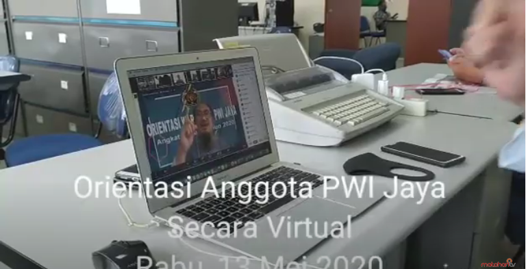Sejarah, PWI Jaya lakukan orientasi virtual