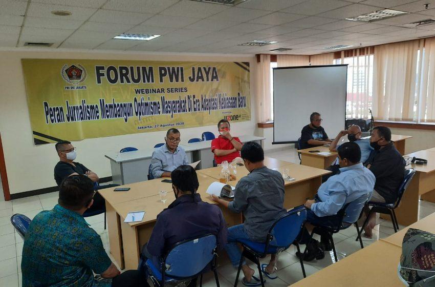 Persiapan Tuan Rumah HPN 2021, PWI Jaya Gelar Rapat