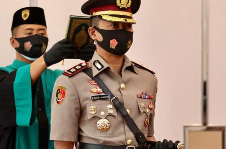 Polisi Gaul AKBP Bagoes Wibisono Resmi Jabat Kapolres Madiun