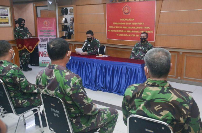 Ster TNI Berkomitmen Siap Mewujudkan WBK dan WBMM, Untuk Mewujudkan Indonesia Maju