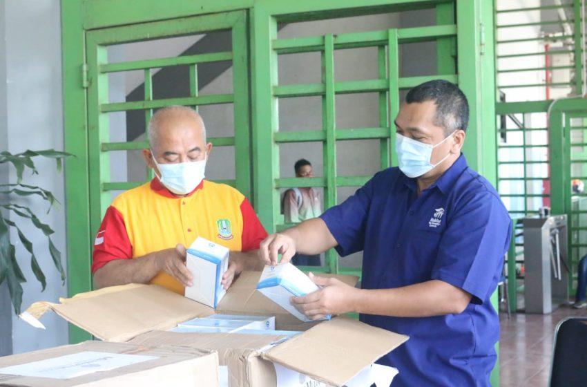 8000 Masker Dari Mentari Mulia Berjangka Untuk Pemkot Bekasi