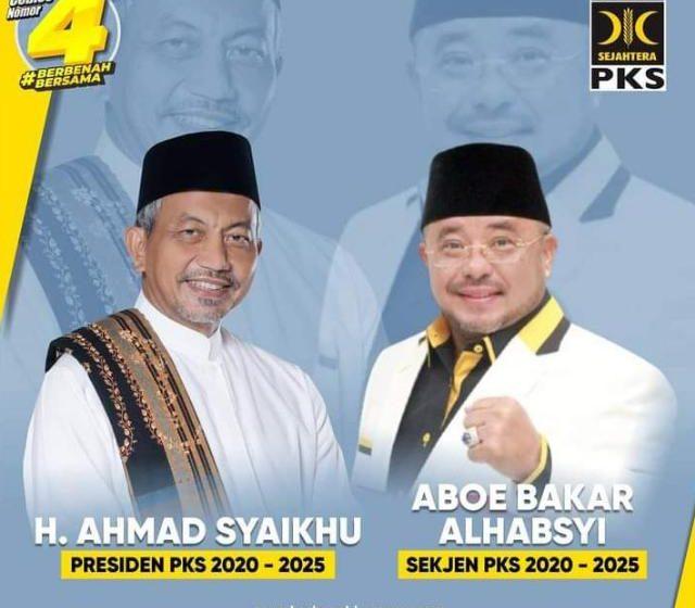 Habib Salim Segaf Aljufrie Pimpin Ketua Majelis Syura (MS) PKS, Ahmad Syaikhu Presiden PKS 2020-2025