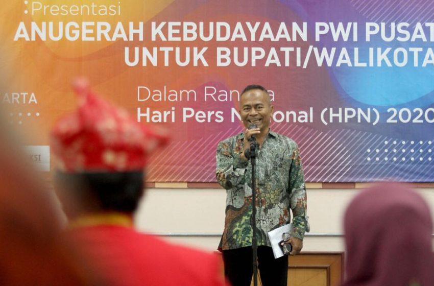 Anugerah Kebudayaan PWI Pusat Di Tanggapi Positif Kabupaten dan Kota