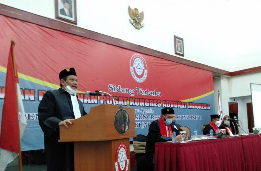 Presiden KAI Pimpin Pengangkatan 60 Calon Advokat Baru