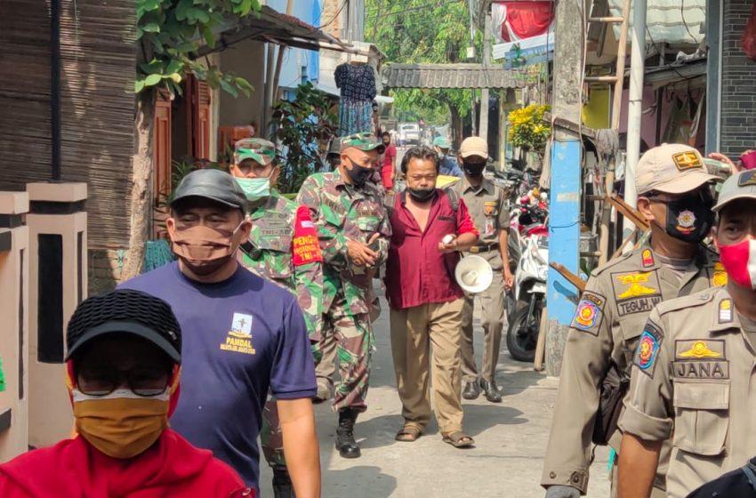 Danramil 05/Cilincing : Keberadaan Satgas Padat Karya Bantu Satgas Covid-19 Kecamatan dan PDMPK
