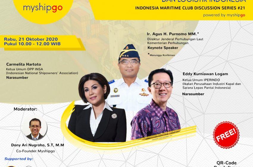 Azas Cabotage Tubuhkan Daya Saing Industri Pelayaran dan Logistik Indonesia