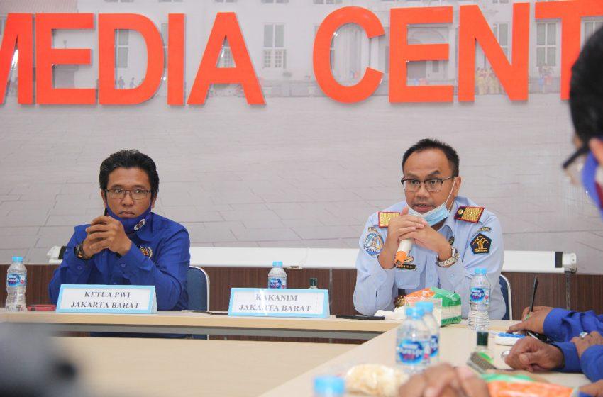 Kanim Klas I Khusus Jakbar Bangun Sinergitas Dengan Koordinatoriat PWI