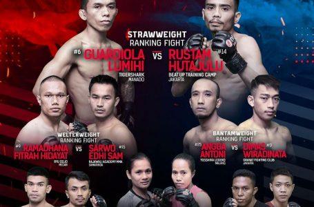 One Pride MMA Sajikan Lima Pertarungan, Satu Partai Silat Bebas