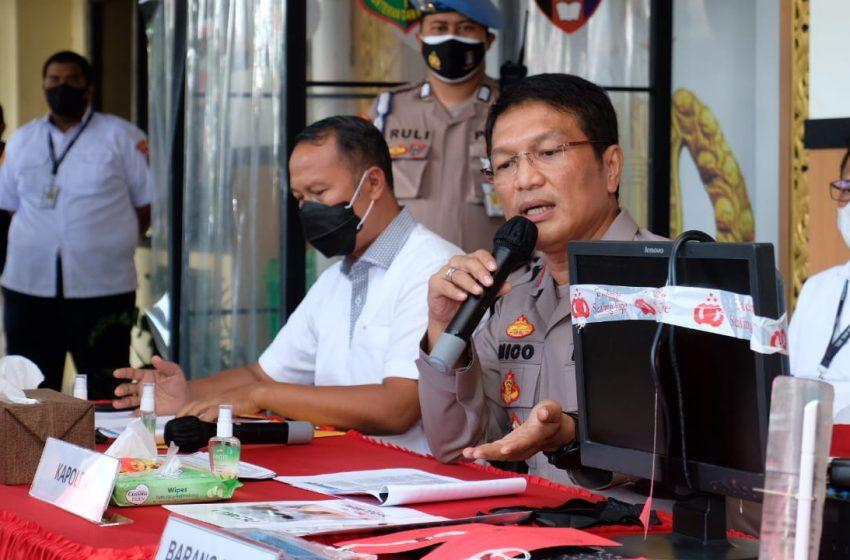 Dit Reskrimsus Polda Kalsel Tangkap 15 Pelaku Penyuntikan Tabung Gas LPG 3 Kg