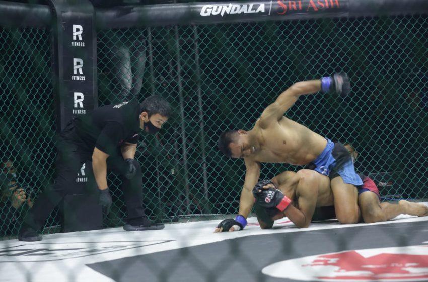 One Pride MMA FN 39, Gugun Sukses Rebut Sabuk Juara Kelas Bantam
