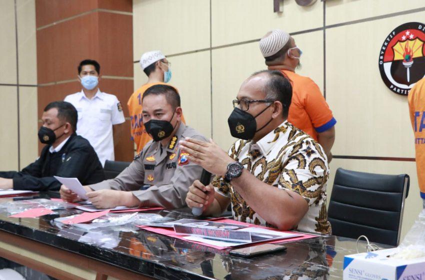 Ditreskrimsus Polda Jatim Bekuk Empat Pria Pengancam Mahfud MD