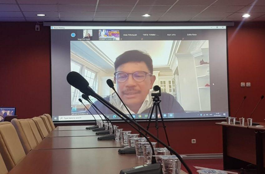 Menkominfo Saran HPN 2021 Full Digital
