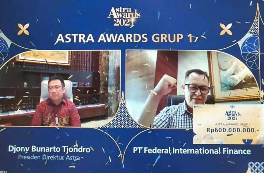 HUT Astra ke-64, FIFGROUP Terpilih Perusahaan Terbaik di Masa Pandemi di Ajang Astra Awards 2021