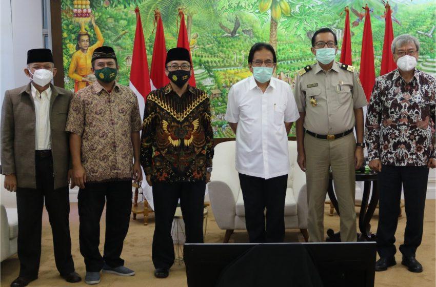 Menteri ATR/Kepala BPN Siap Bantu Pendaftaran Tanah Wakaf