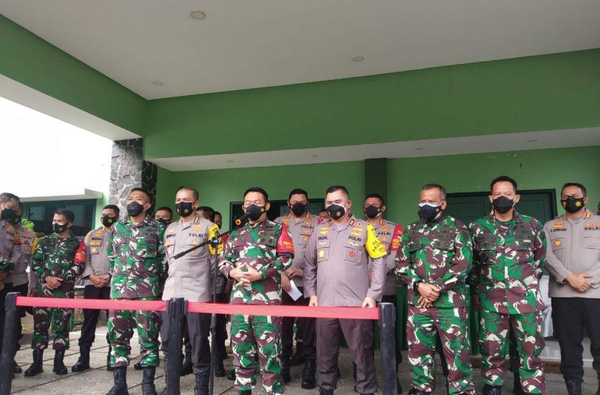 Pangdam dan Kapolda Metro Jaya Pimpin Rakoord PPKM Bersekala Mikro