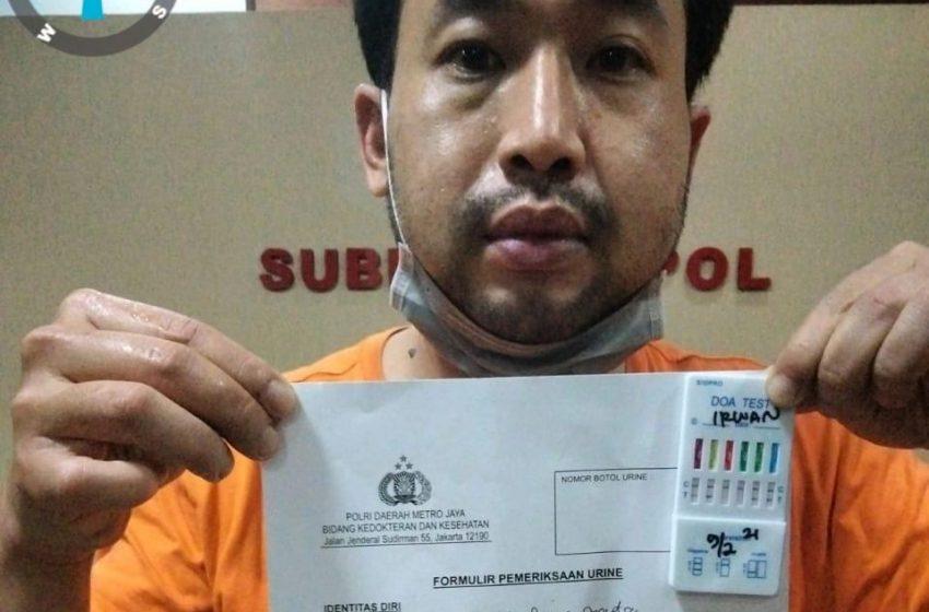 Miliki Sabu, Pria Ini Ditangkap Penyidik Narkoba Polda Metro