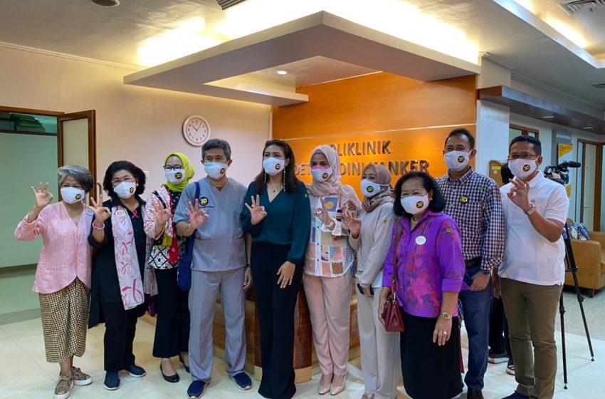 YKPI dan RSKD Efektifkan Layanan Unit Mobil Mamografi dan Edukasi Kanker Payudara di Masa Pandemi Covid-19