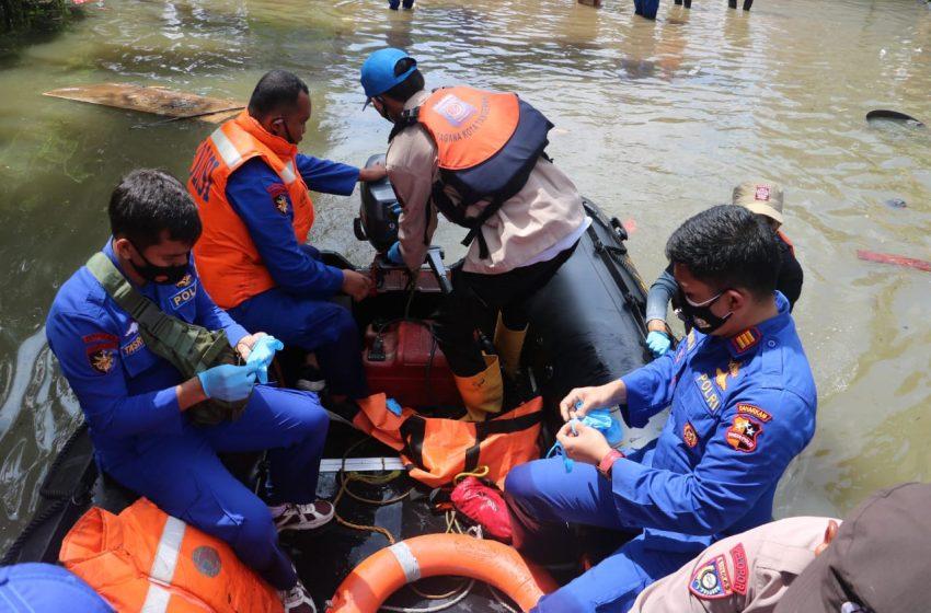 Evakuasi Korban Banjir, Tim SAR Ditpolair Baharkam Polri Temukan Jenazah di Situlubukan