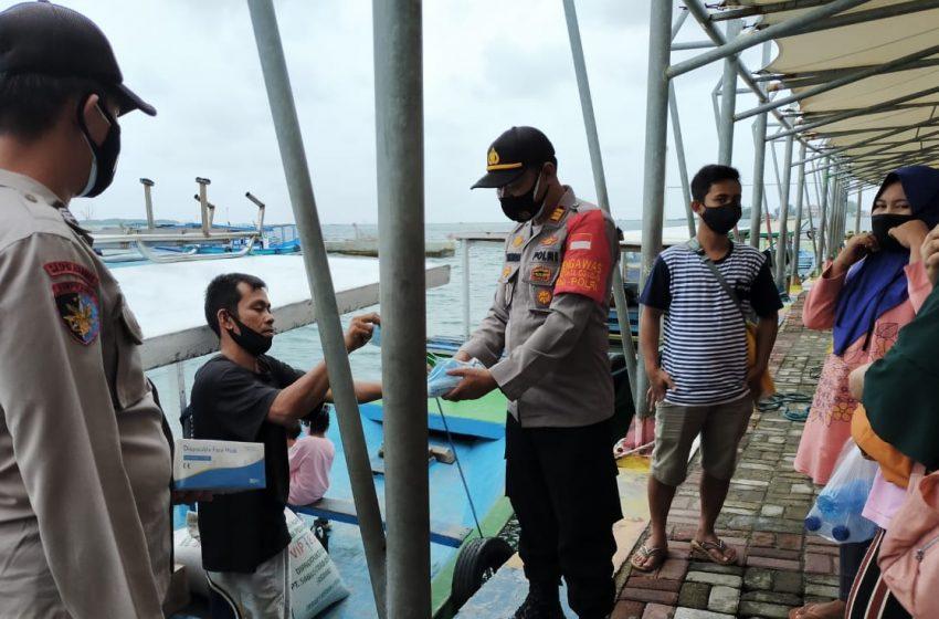Pertahankan Zona Hijau Di KTJ Pulau Pramuka, Ini Kata Kata Kapolsek Kep Seribu Utara