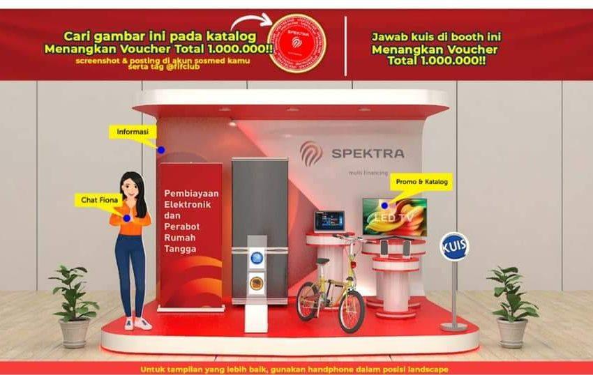 Kini Hadir di 16 Kota, SPEKTRA FAIR Tawarkan Kredit Uang Muka Rp 0