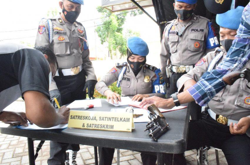 Antisipasi Pelanggaran, Provost Polda Jatim Sambangi Mapolresta Sidoarjo