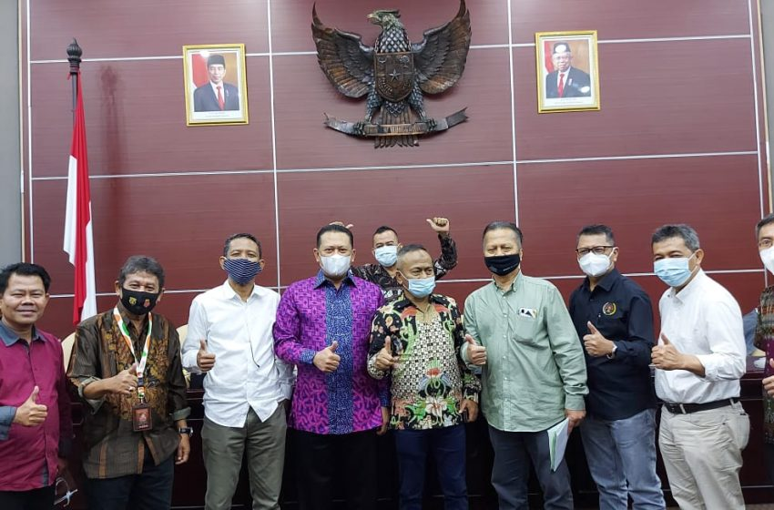 Ketua MPR RI Buka UKW Angkatan ke-50 PWI Jaya