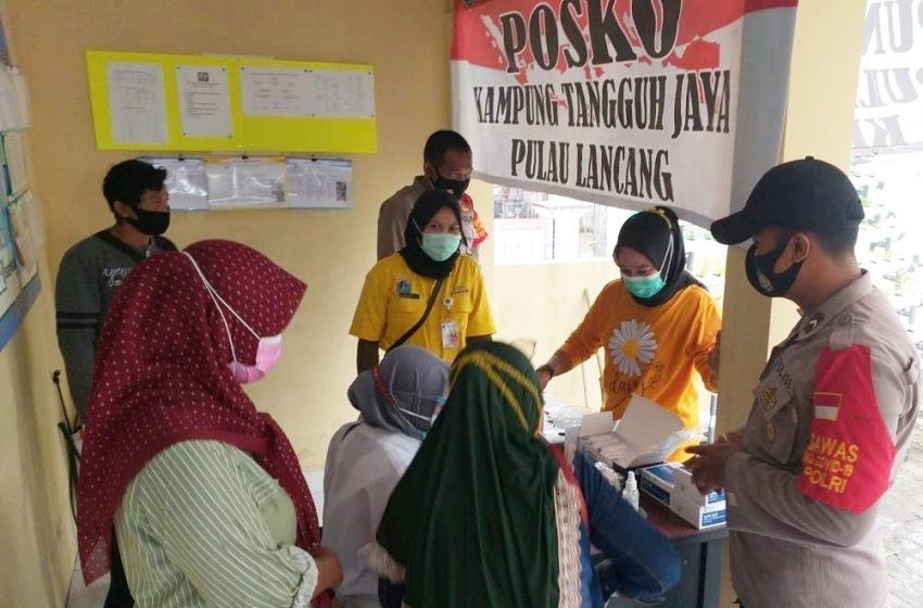 Prokes Ketat dan Rapid Tes Pendatang, KTJ Pulau Lancang Jaga Predikat Zona Hijau