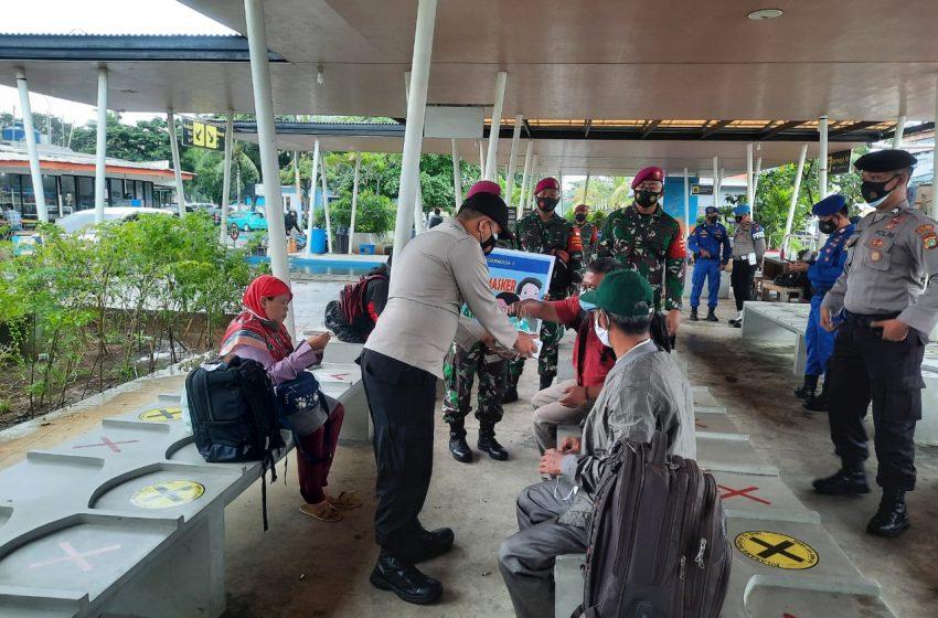 """2.250 Masker Gratis Dibagikan Tiga Pilar Kep Seribu dengan Tema """"Jakarta Bermasker"""""""