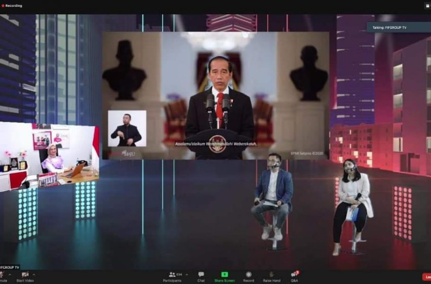 Staf Khusus Presiden Bidang Sosial Motivasi Milenial FIFGROUP