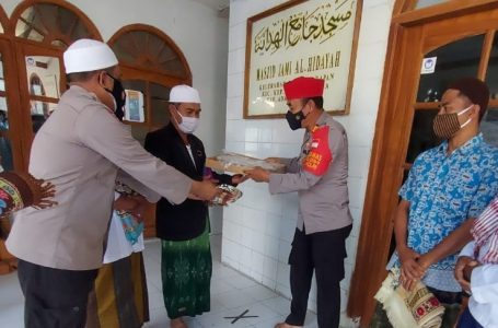 Kunjungi Tokoh Agama dan Tokoh Masyarakat, Kapolsek Kep Seribu Utara Ajak Tingkatkan Toleransi Beragama