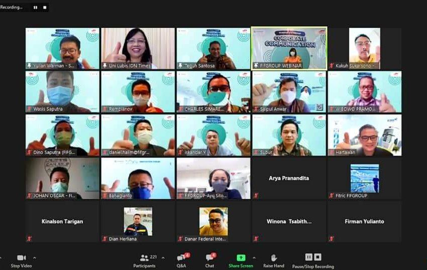 Melalui Webinar FIFGROUP, 250 Kepala Cabang Belajar Memahami Perkembangan Media