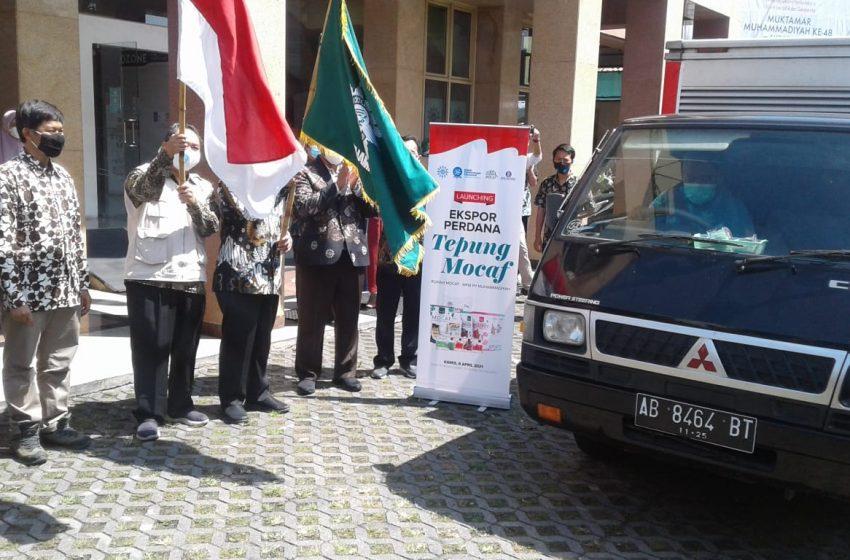 MPM Muhammadiyah Lakukan Ekspor Perdana 60 Ton Tepung Mocaf ke Inggris