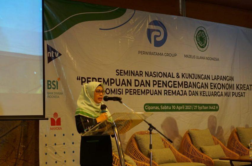 Dr.Hj.Siti Ma'rifah, MM, MH: Perempuan Harus Lebih Kreatif dalam Mengembangkan Diri